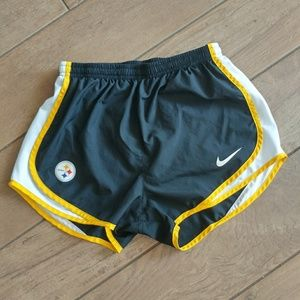 Steelers Nike Dri Fit Shorts